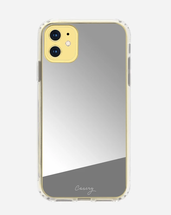 Silver Mirror iPhone 11 Pro Case