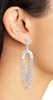 Ryder Statement Earrings - Rhodium
