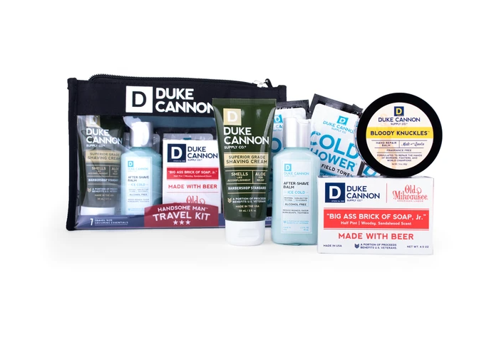 Handsome Man Travel Kit | Duke Cannon