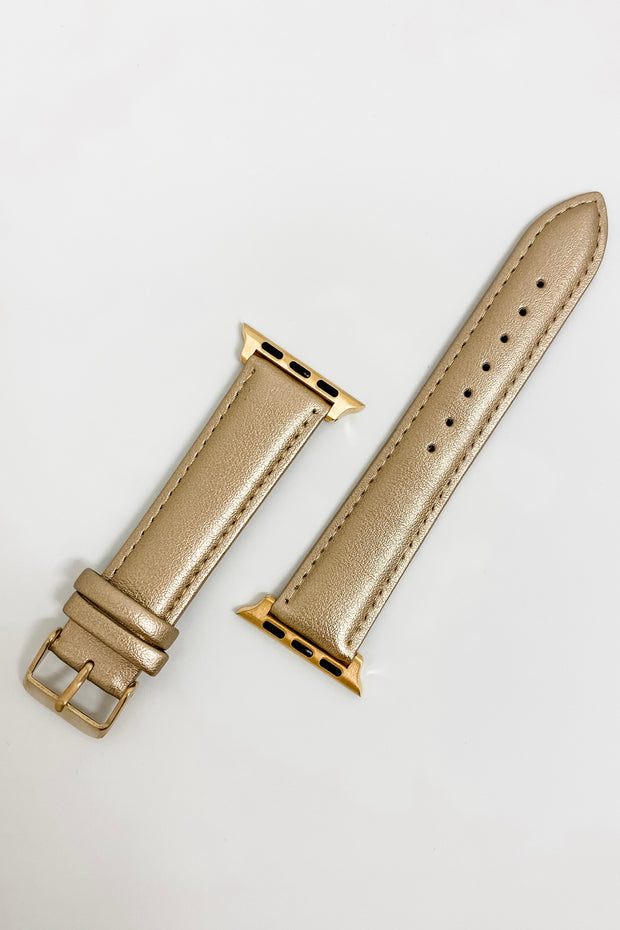 Apple Watch Band - Metallic Gold