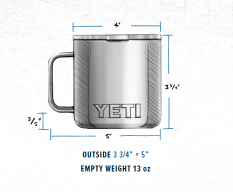 Yeti Rambler 14 Oz Mug - Copper