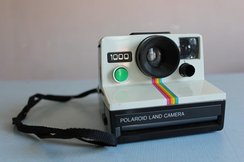 A polaroid land camera
