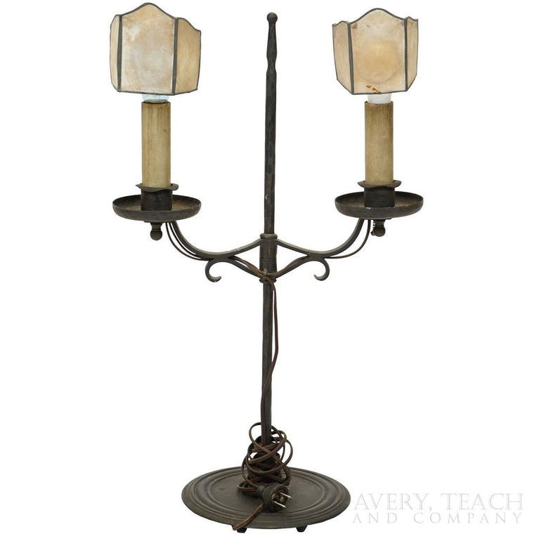 Antique Iron Lamp