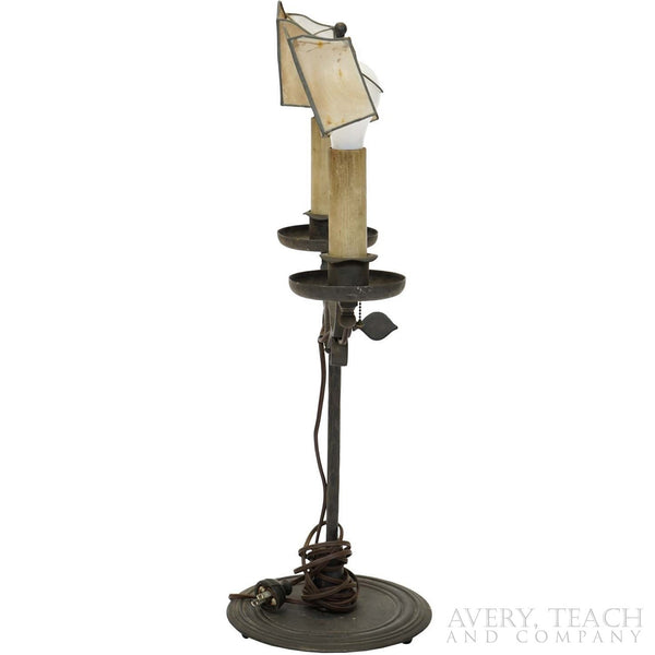 Antique Iron Lamp - Avery, Teach and Co.