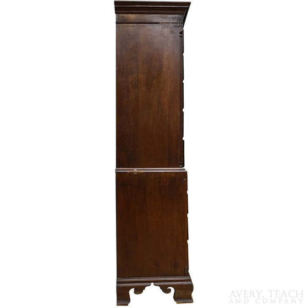 Antique Mahogany Chest on Chest - Avery, Teach and Co.