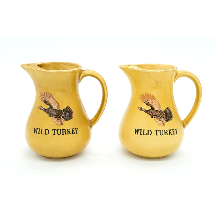 Pair of Wild Turkey Bourbon Pitchers