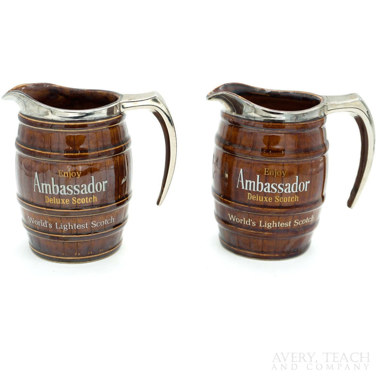 Pair of Ambassador Deluxe Scotch Pitchers