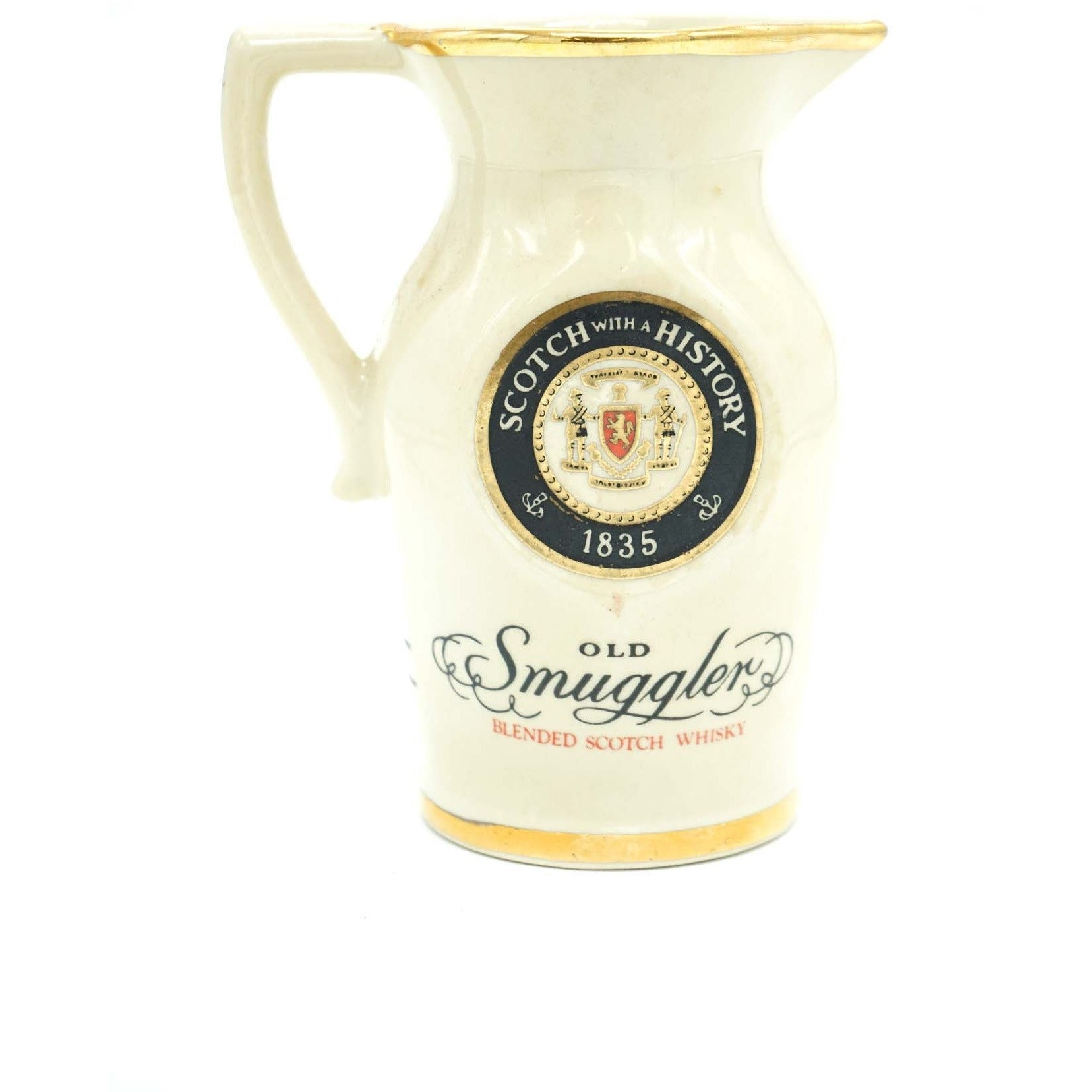 """Old Smugglers"" Pitcher"