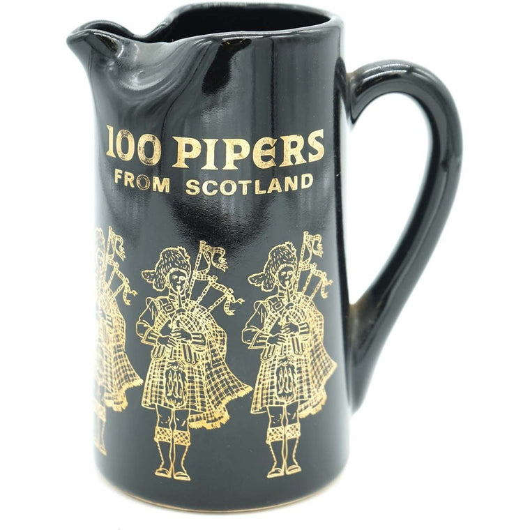 100 Pipers from Scotland Pitcher