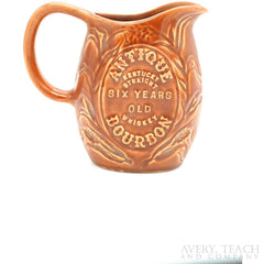 Vintage Antique Kentucky Straight Whiskey Bourbon Pitcher - Avery, Teach and Co.