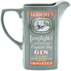 """Nicholson's Lamplighter"" Gin Pitcher - Avery, Teach and Co."