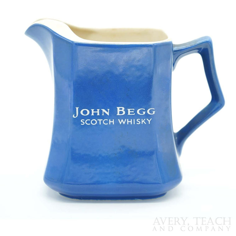 John Begg Scotch Whisky Pitcher