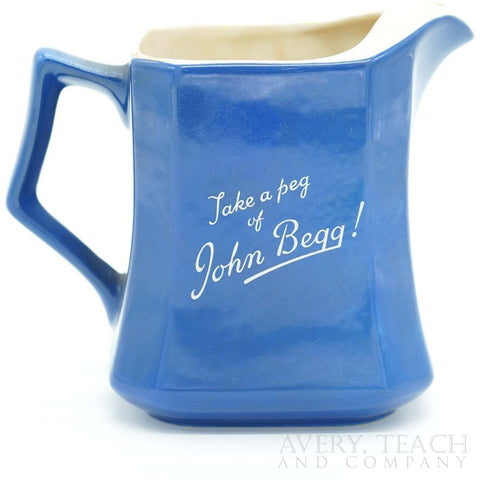 John Begg Scotch Whisky Pitcher - Avery, Teach and Co.