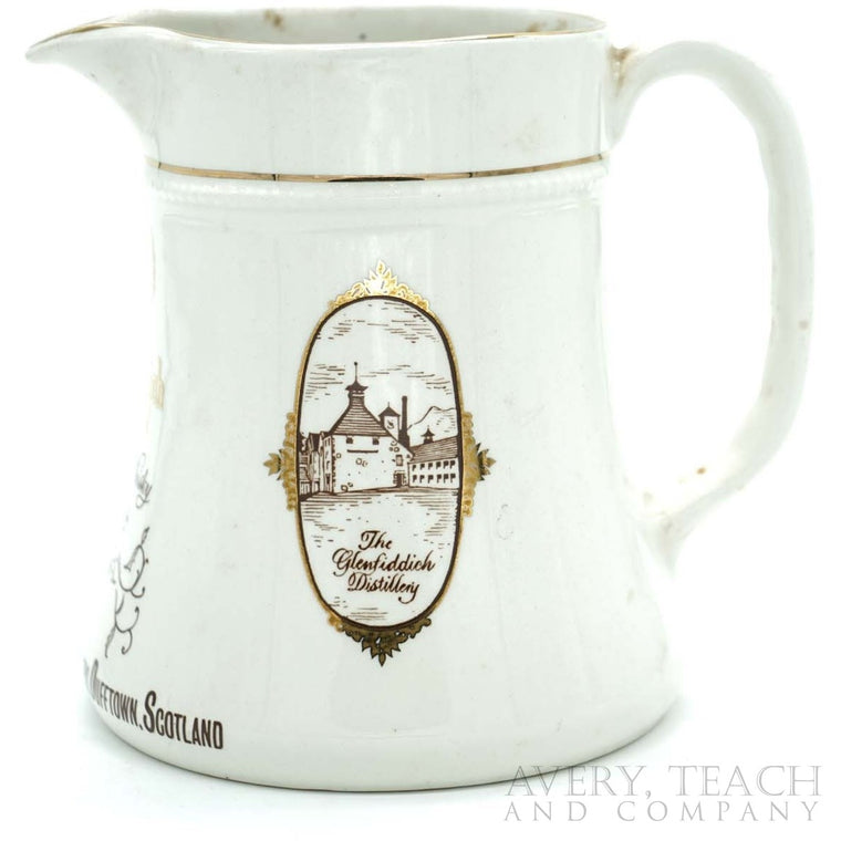 Glendfiddich Unblended Scotch Whisky Pitcher