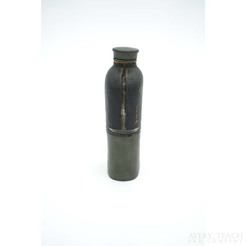 Vintage Leather Bound Canteen Flask - Avery, Teach and Co.