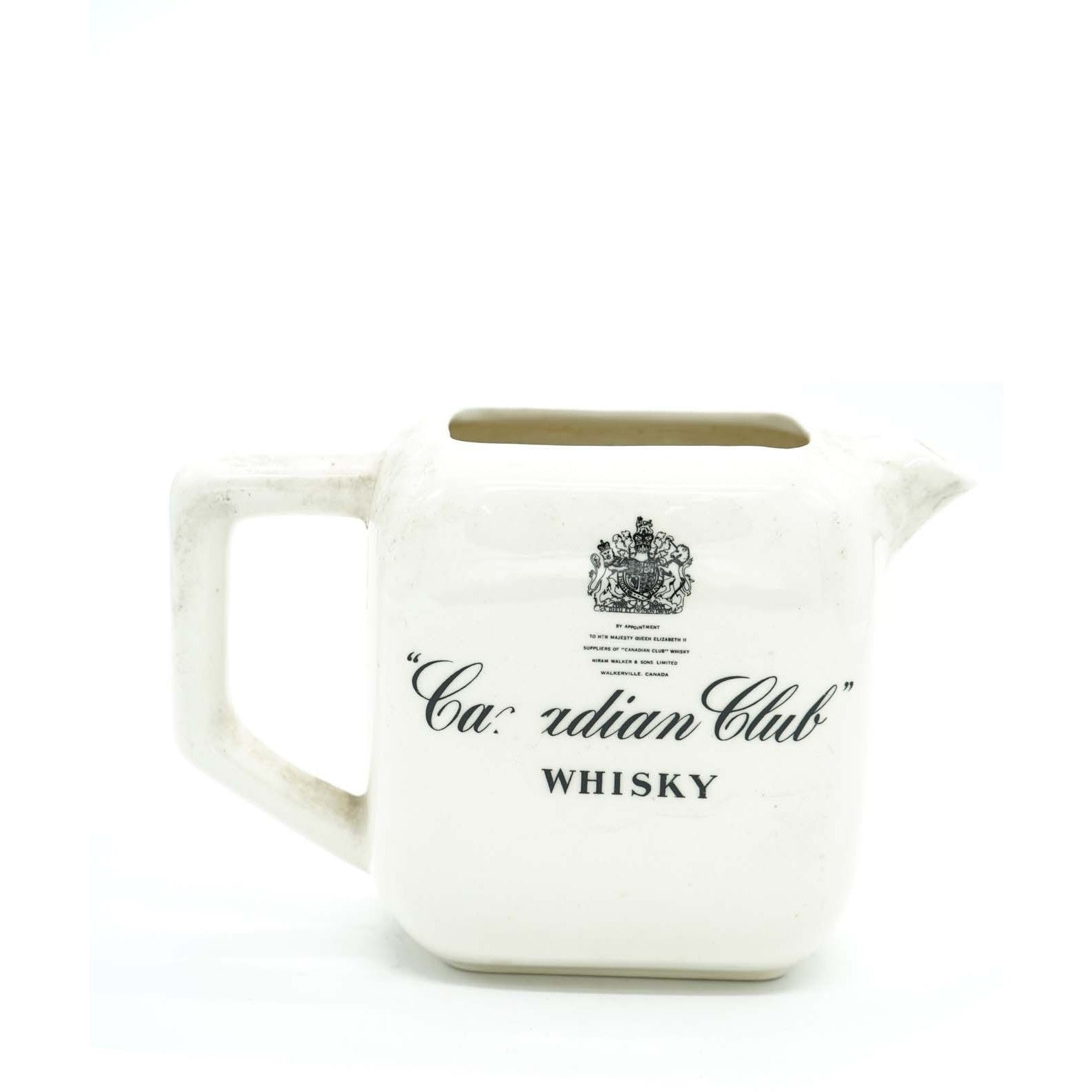 Canadian Club Whisky Water Pitcher