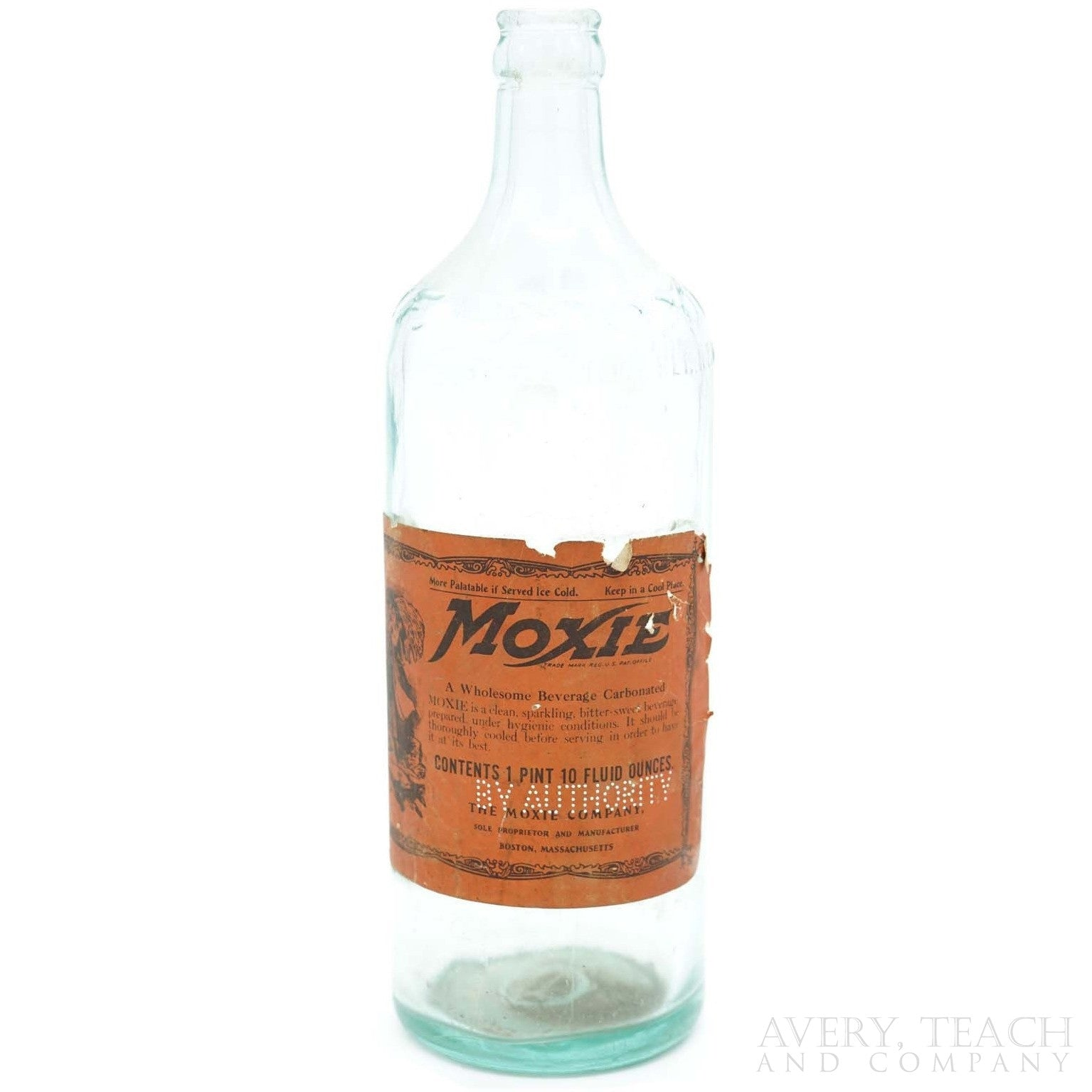 Antique Moxie Bottle