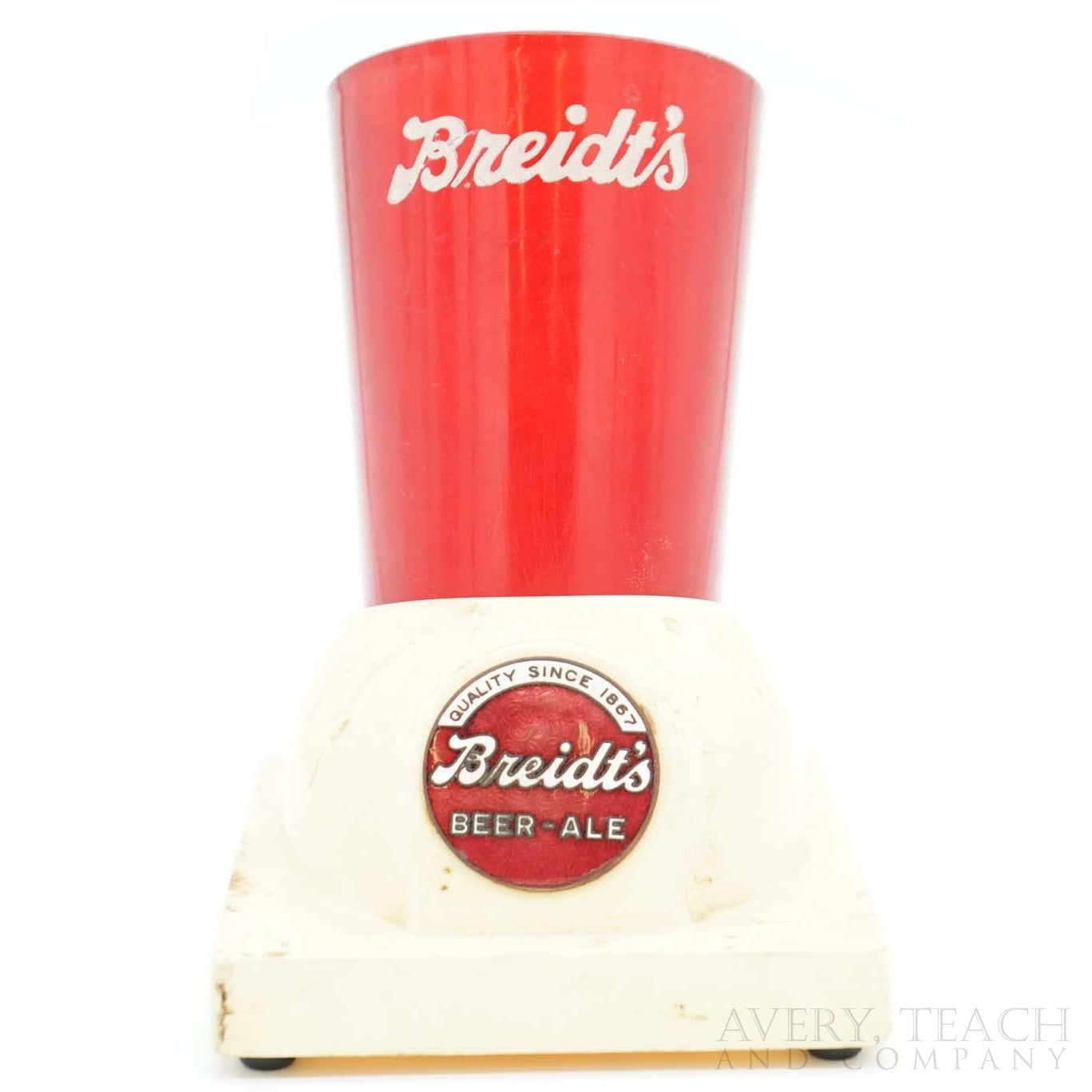 Vintage Breidt's Beer Ale holder - Avery, Teach and Co.