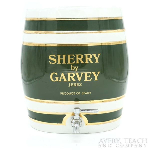 Sherry by Garvey Barrel Decanter