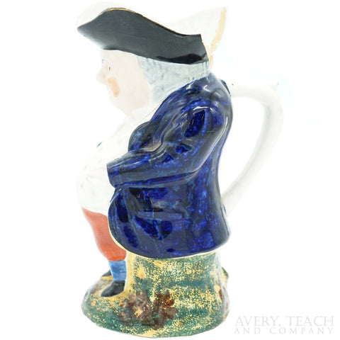 Vintage Bostonian Ceramic Pitcher - Avery, Teach and Co.