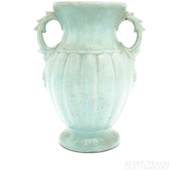 Ceramic Blue Urn - Avery, Teach and Co.