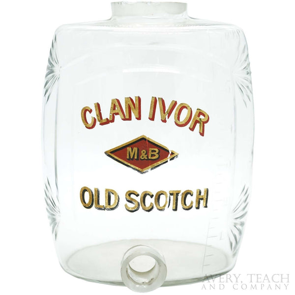 Clan Ivor Old Scotch Barrel Decanter