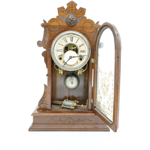 Antique Gilbert Mantle Clock - Avery, Teach and Co.