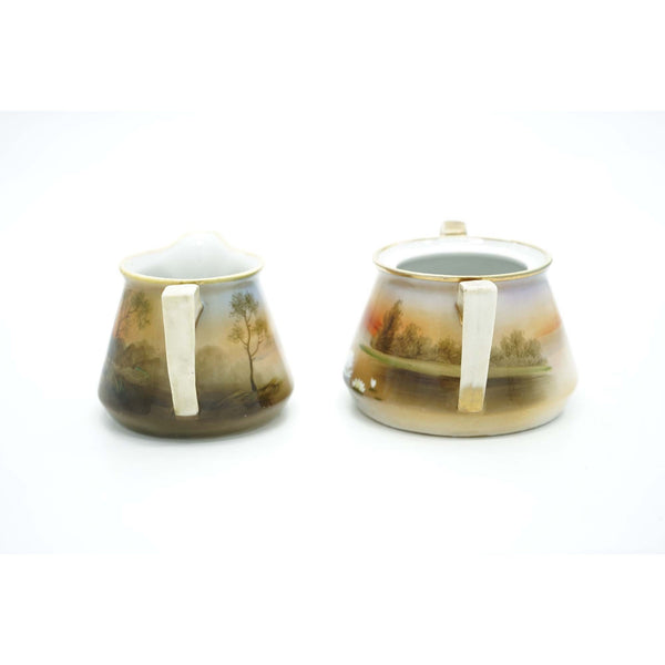 Cream and Sugar Bowl Nippon Set - Avery, Teach and Co.