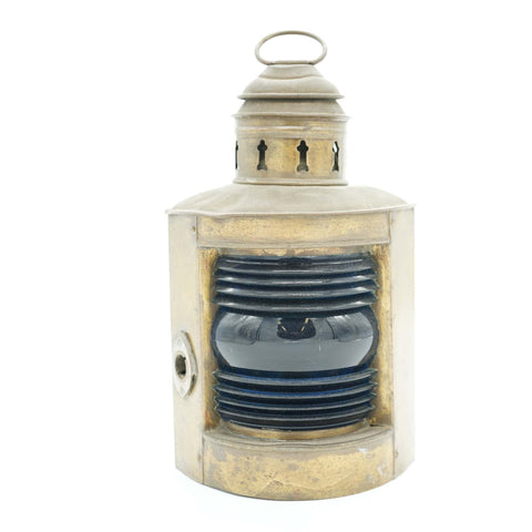 Antique Ship Corner Oil Lantern - Avery, Teach and Co.