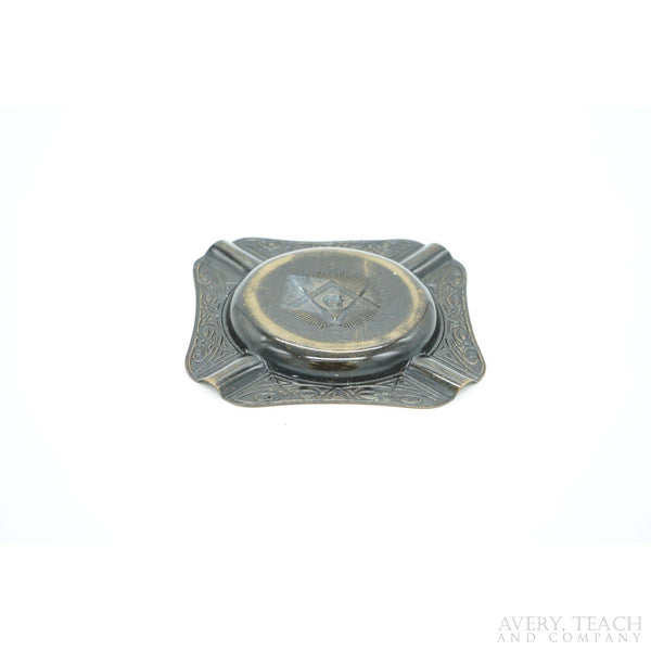 Vintage Masonic Ashtray - Avery, Teach and Co.