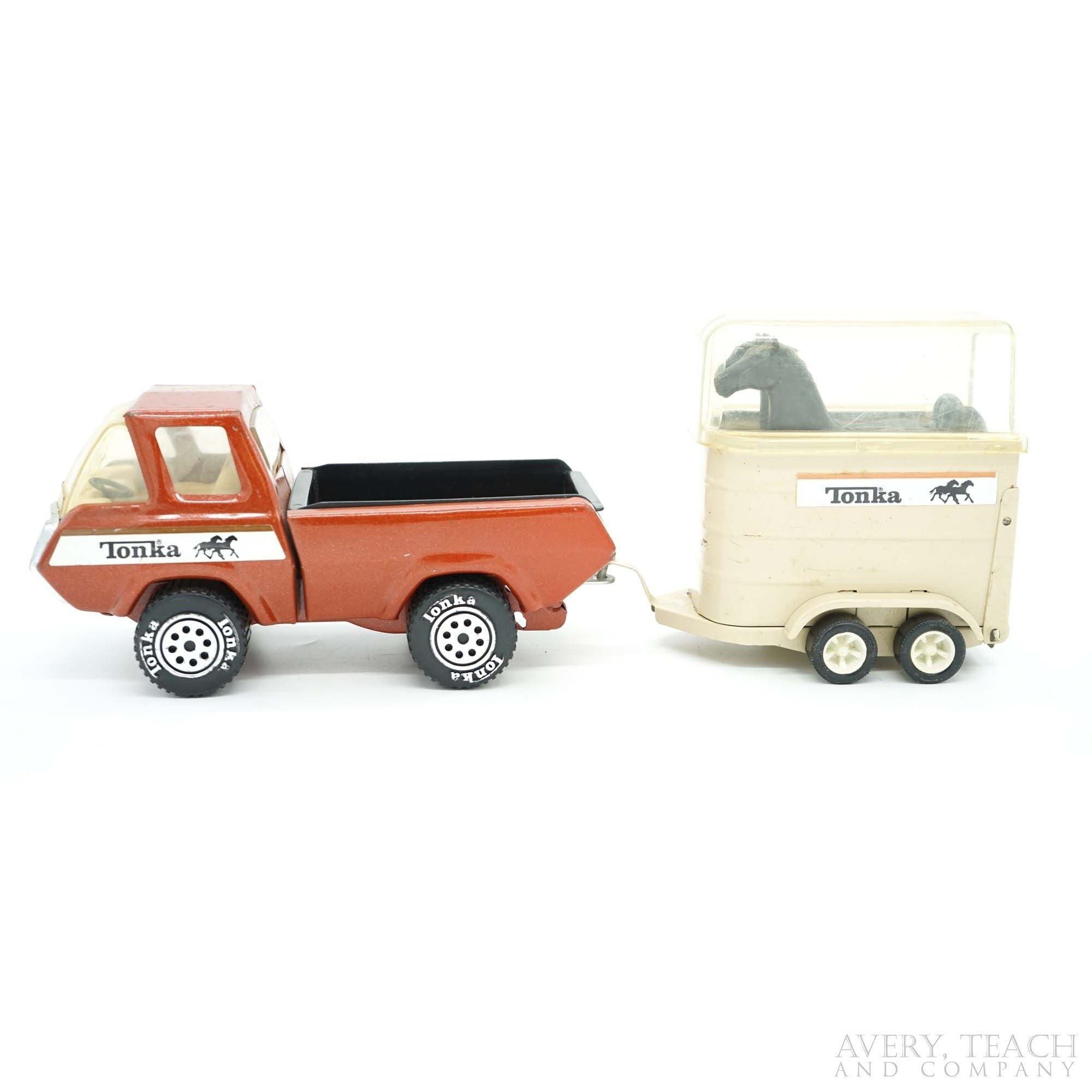 1970's Tonka Truck and Horse Trailer