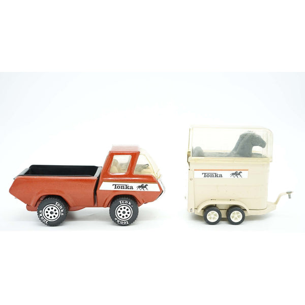 1970's Tonka Truck and Horse Trailer - Avery, Teach and Co.