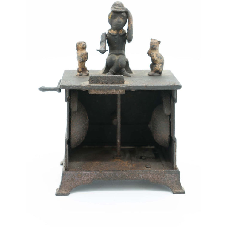 19th Century Kyser & Rex Cast Iron Organ Mechanical Bank