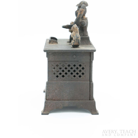 19th Century Kyser & Rex Cast Iron Organ Mechanical Bank - Avery, Teach and Co.