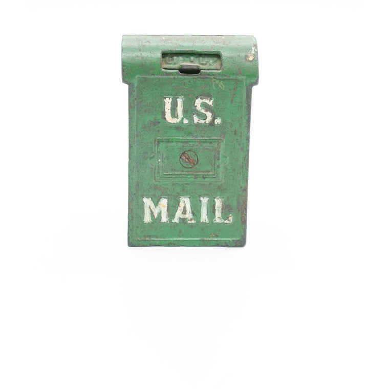 Vintage U.S. Mail Cast Iron Coin Bank