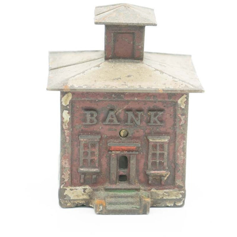 Antique Still Bank Figural Cast Iron Bank