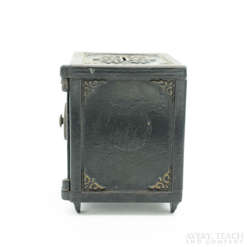 "Antique Cast Iron ""Royal Safe"" Deposit Bank - Avery, Teach and Co."