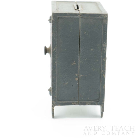 Antique Kyser & Rex Cast Iron Security Safe - Avery, Teach and Co.