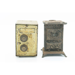 Pair of Early 20th Century Still Banks