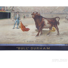 """Bull"" Durham Tobacco Print - Avery, Teach and Co."