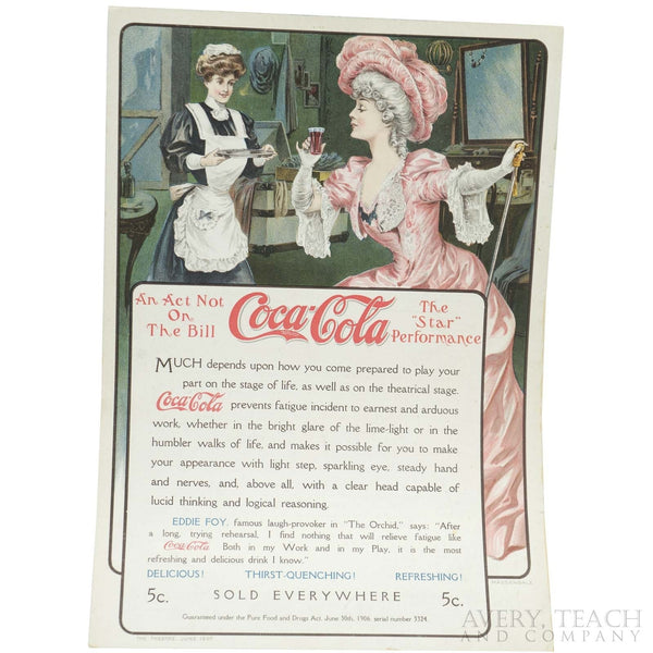 Antique Coca Cola Magazine Advertisement