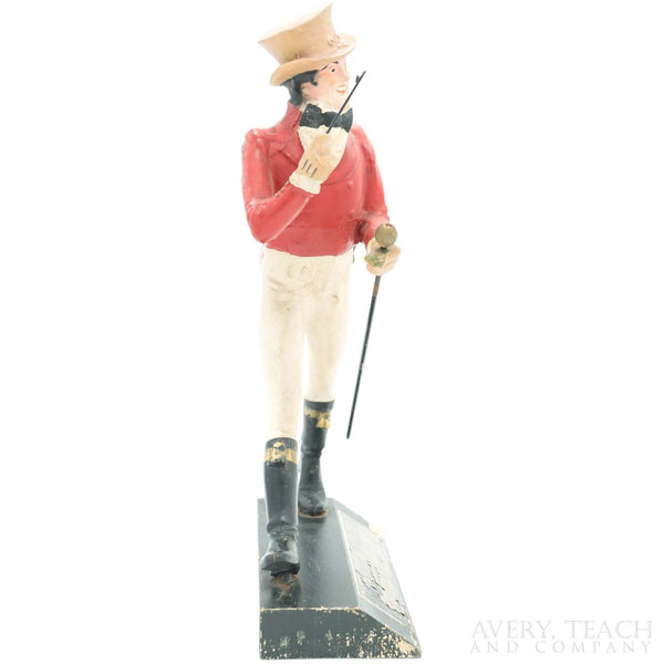Antique Carved Wooden Johnnie Walker Figure Display - Avery, Teach and Co.