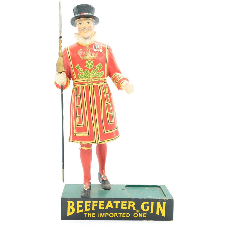 Vintage Beefeater Gin Advertising Display Figure