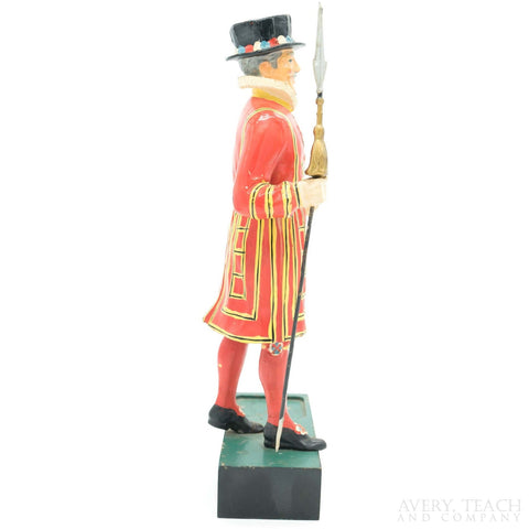 Vintage Beefeater Gin Advertising Display Figure - Avery, Teach and Co.