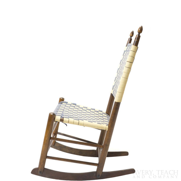 Shaker Sewing Rocking Chair - Avery, Teach and Co.
