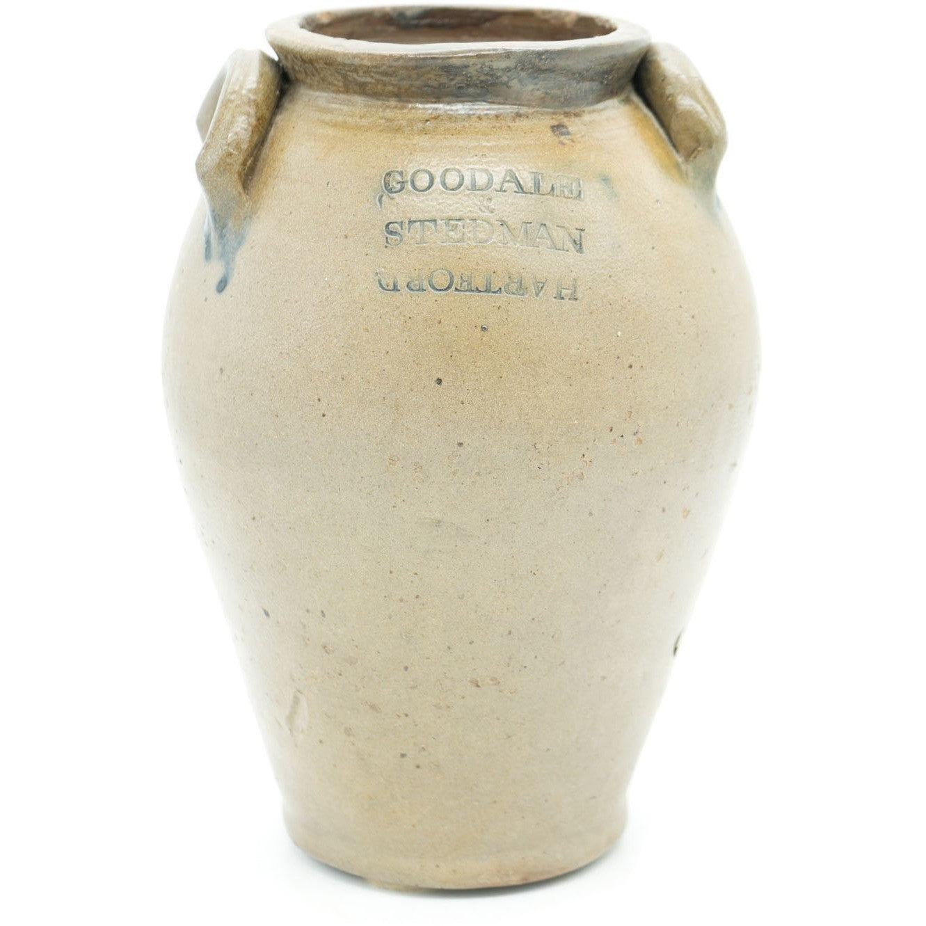 Goodale & Stedman Antique Stoneware Crock Jug