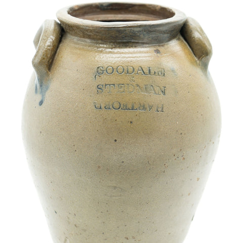 Goodale & Stedman Antique Stoneware Crock Jug - Avery, Teach and Co.
