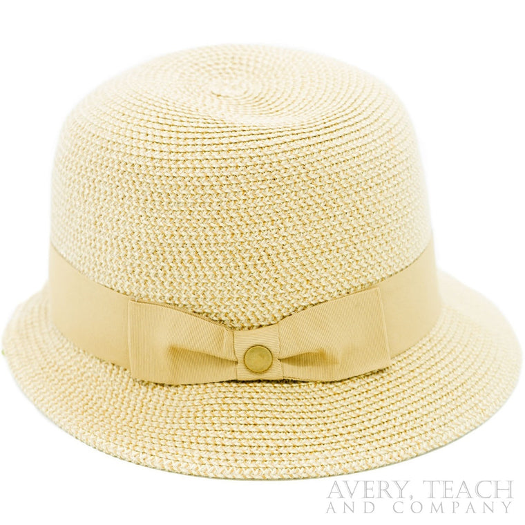 Tan Cloche Hat