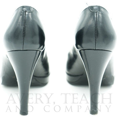 Black Max de Carlo Heels - Avery, Teach and Co.