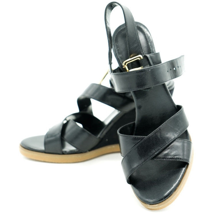 Black Ralph Lauren Sandals Size 6.5
